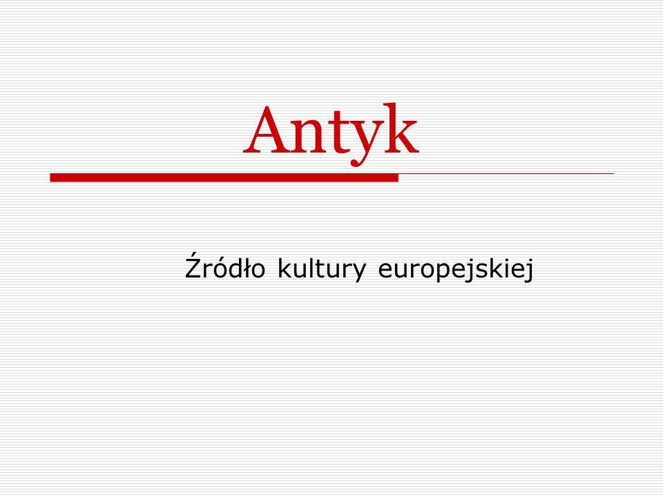 Źródło kultury europejskiej