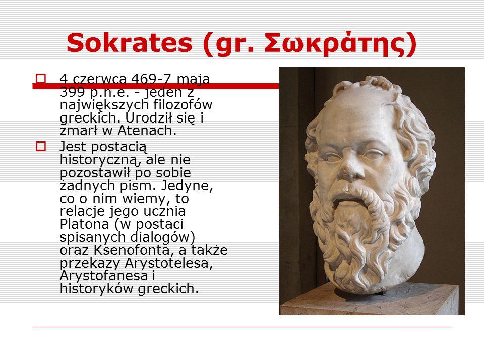Sokrates (gr. Σωκράτης)