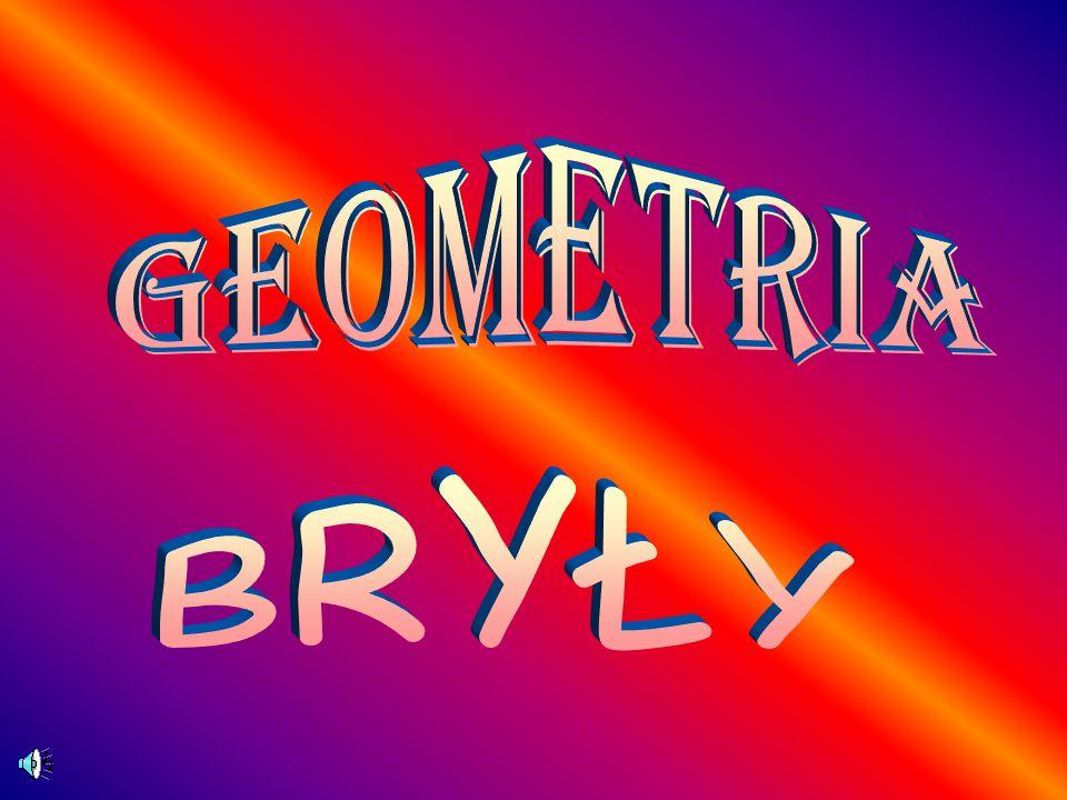 Geometria BRYŁY