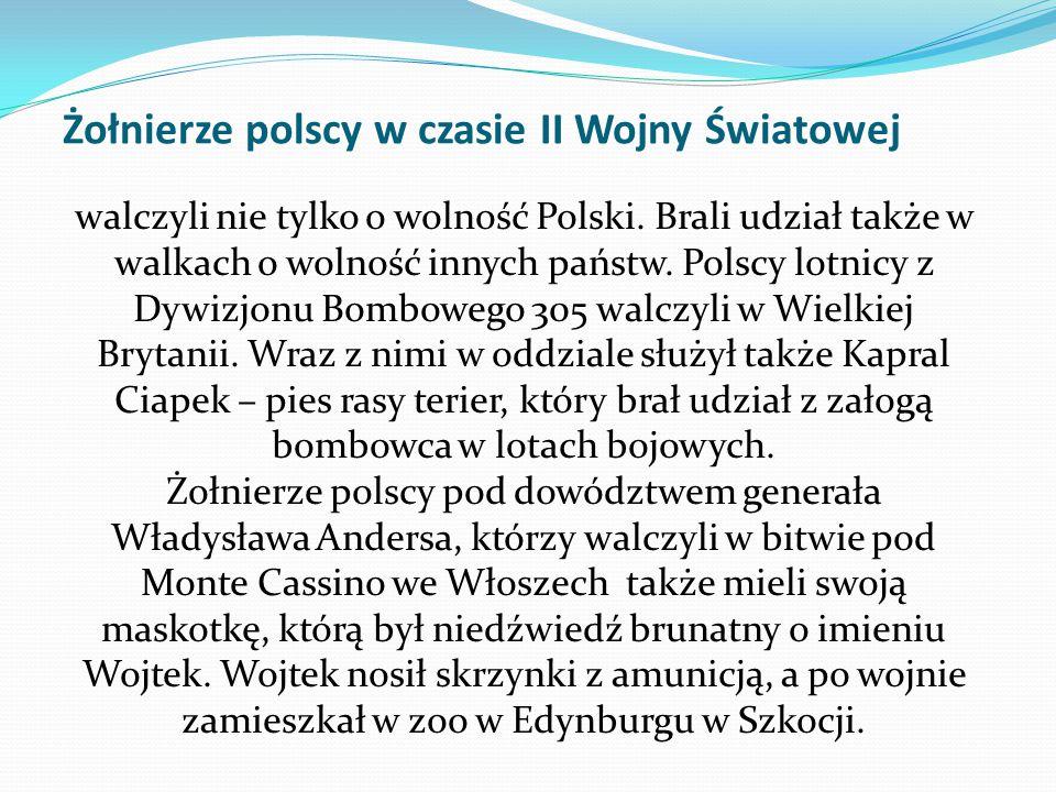 Żołnierze polscy w czasie II Wojny Światowej