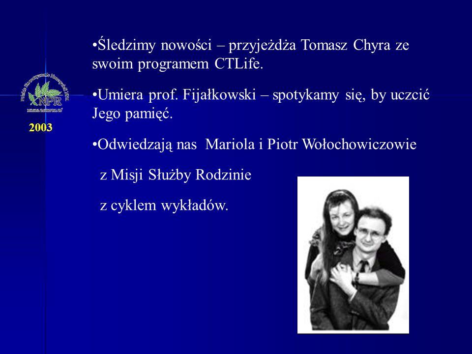 Śledzimy nowości – przyjeżdża Tomasz Chyra ze swoim programem CTLife.