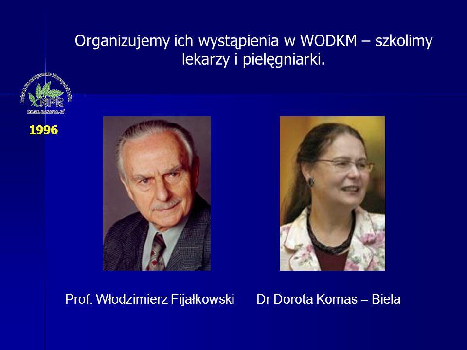 Organizujemy ich wystąpienia w WODKM – szkolimy lekarzy i pielęgniarki.