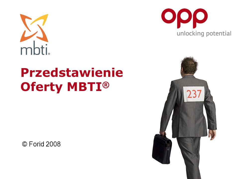 Przedstawienie Oferty MBTI®