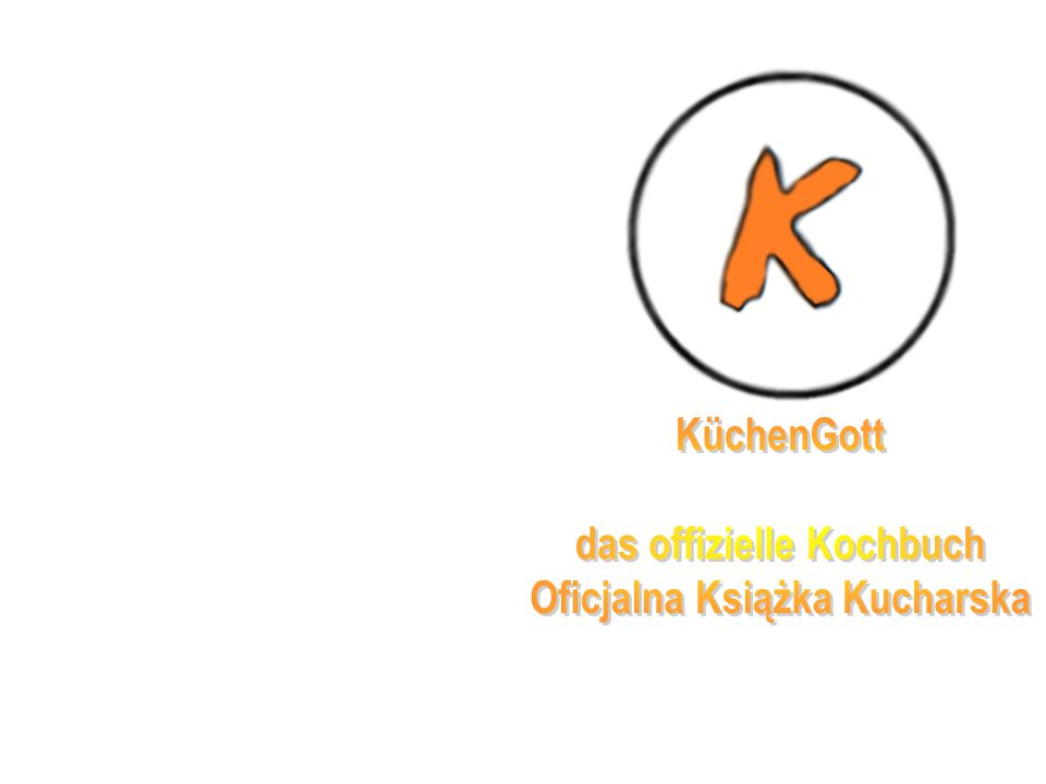 das offizielle Kochbuch Oficjalna Książka Kucharska
