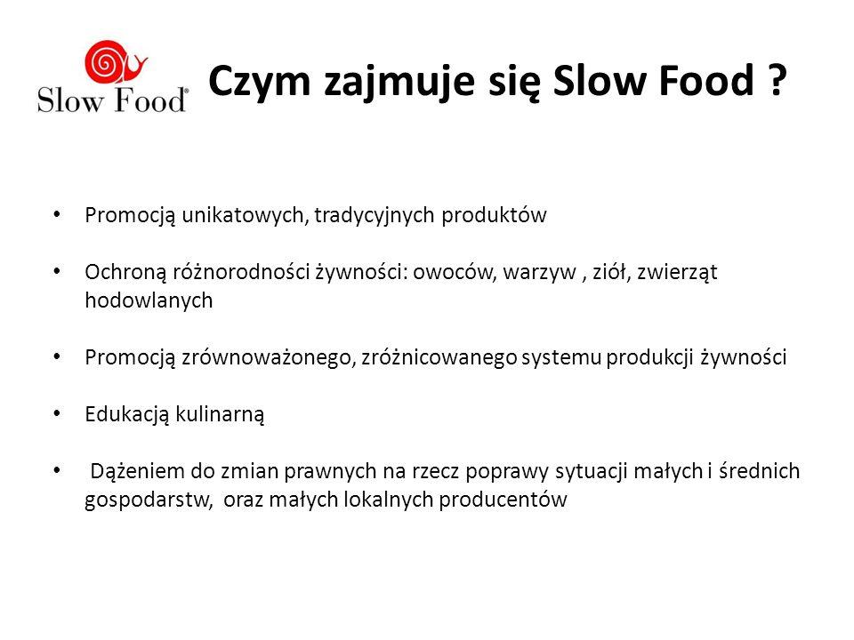 Czym zajmuje się Slow Food