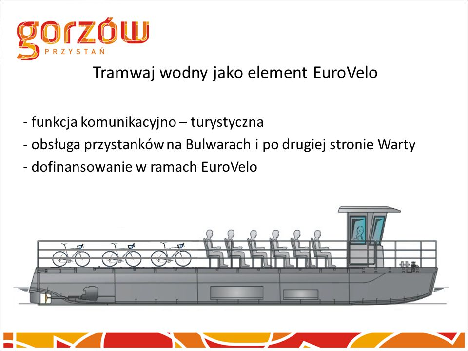 Tramwaj wodny jako element EuroVelo
