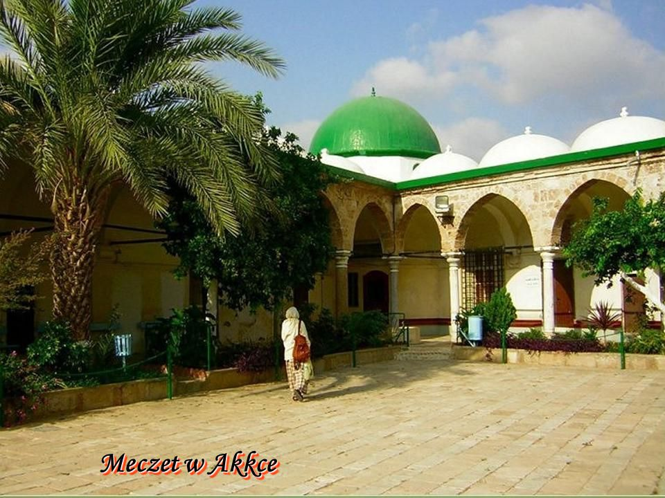 Hof der Ahmed-Jezzar-Moschee in Akko