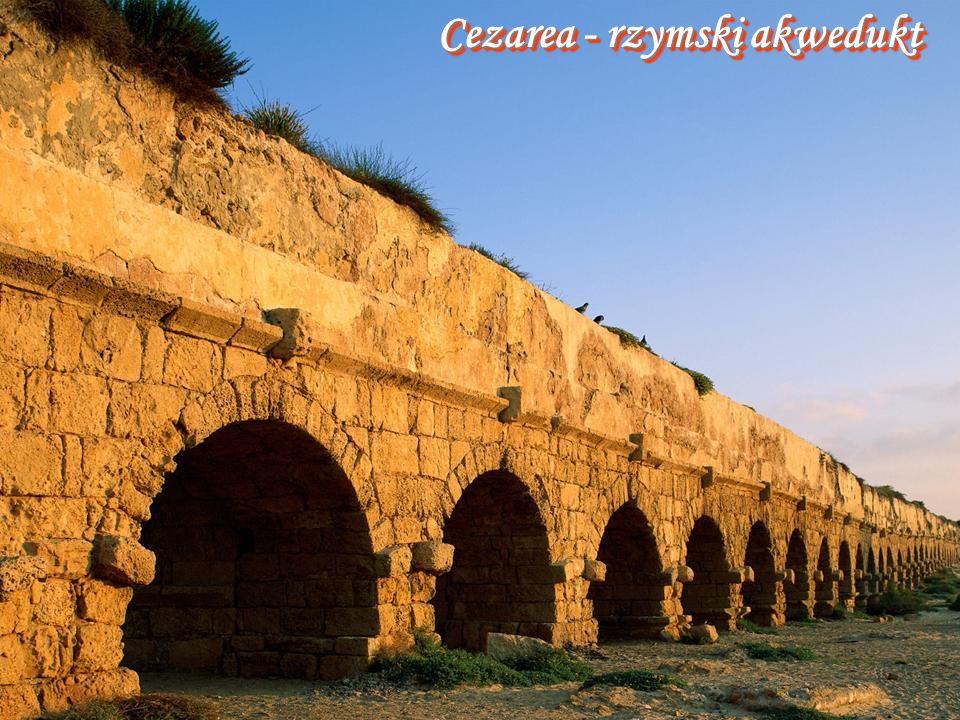 Cezarea - rzymski akwedukt