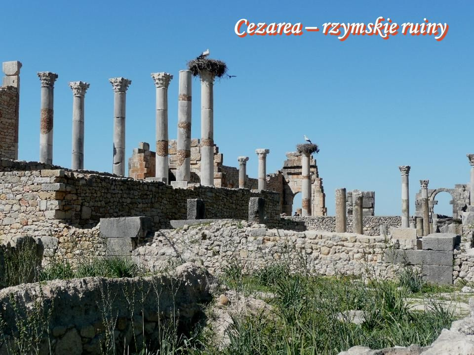 Cezarea – rzymskie ruiny