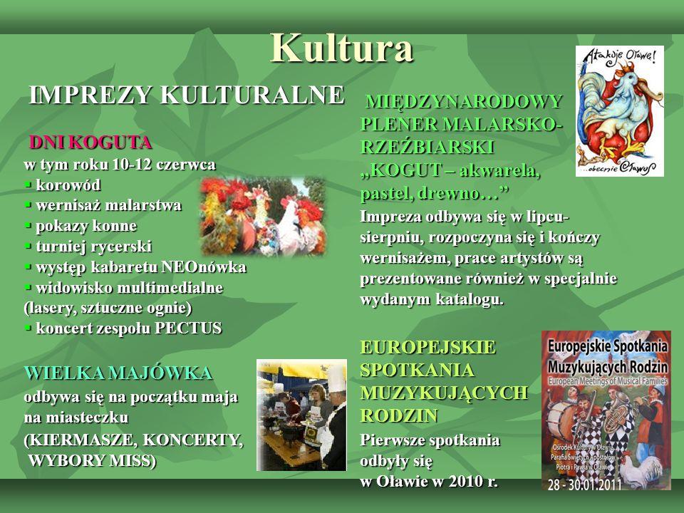 Kultura IMPREZY KULTURALNE. DNI KOGUTA w tym roku 10-12 czerwca.