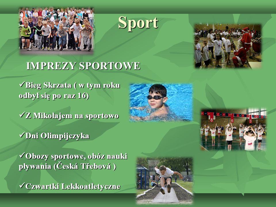 Sport IMPREZY SPORTOWE Bieg Skrzata ( w tym roku odbył się po raz 16)