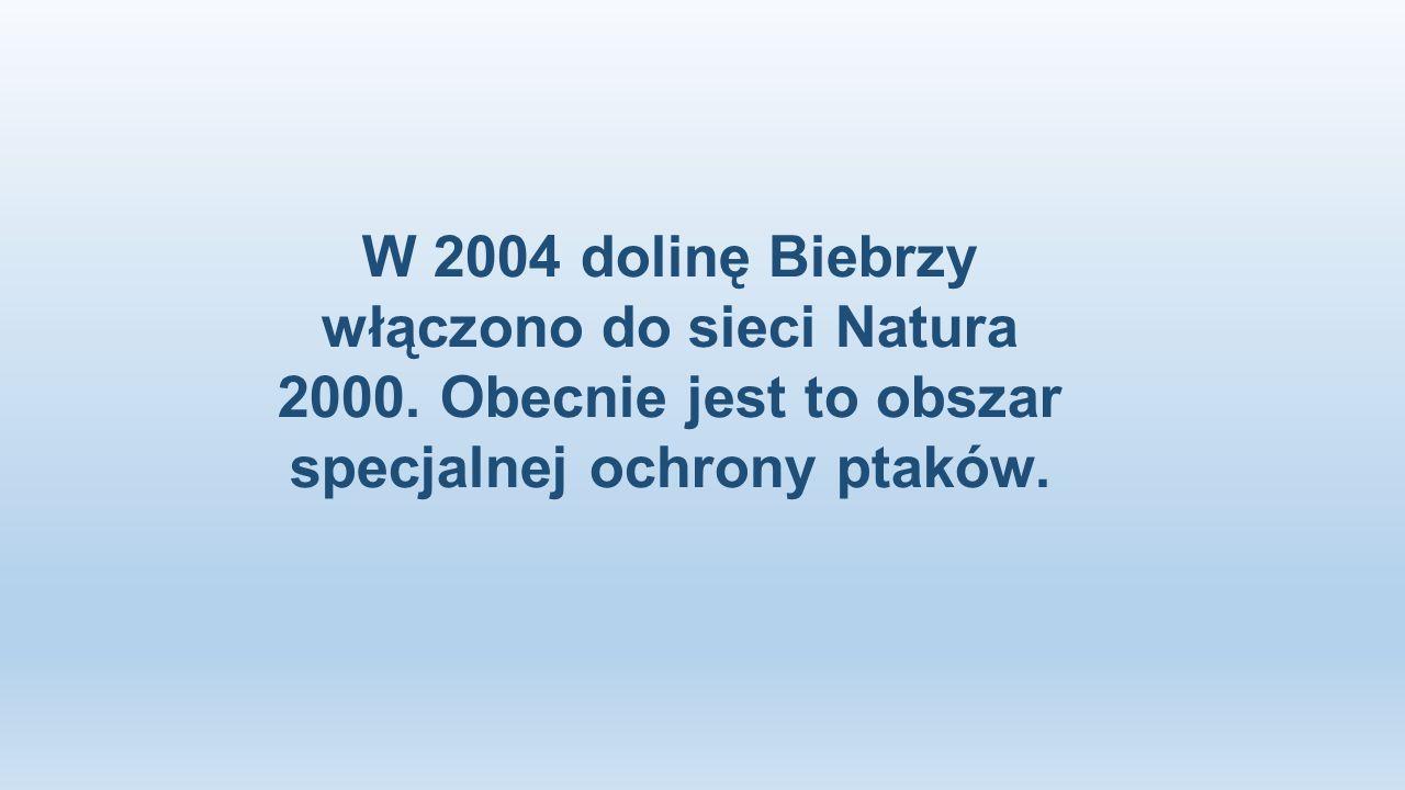 W 2004 dolinę Biebrzy włączono do sieci Natura 2000