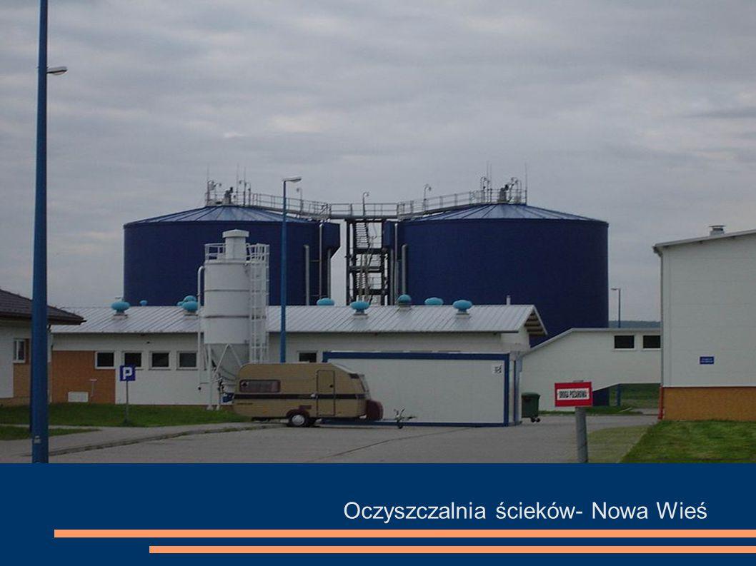 Oczyszczalnia ścieków- Nowa Wieś