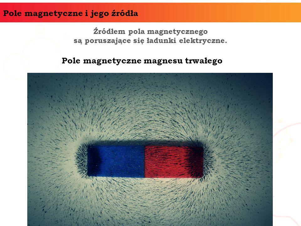 Pole magnetyczne magnesu trwałego