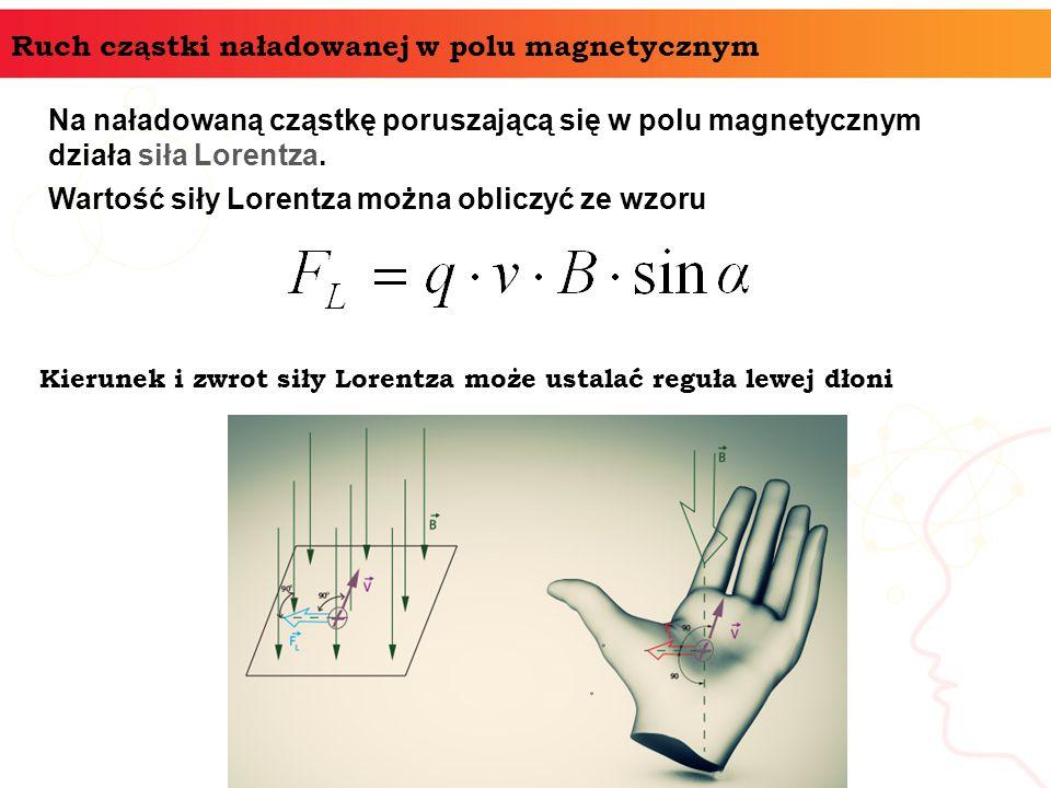 Ruch cząstki naładowanej w polu magnetycznym