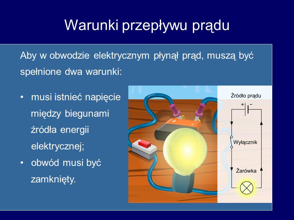 Warunki przepływu prądu