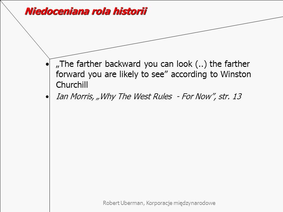 Niedoceniana rola historii