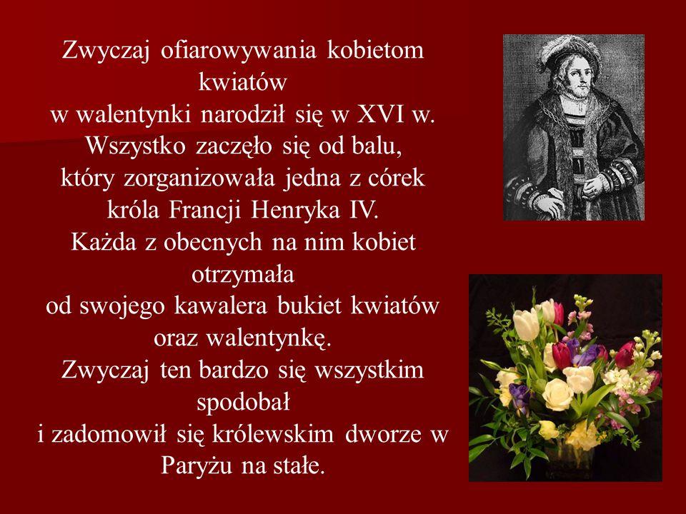 Zwyczaj ofiarowywania kobietom kwiatów