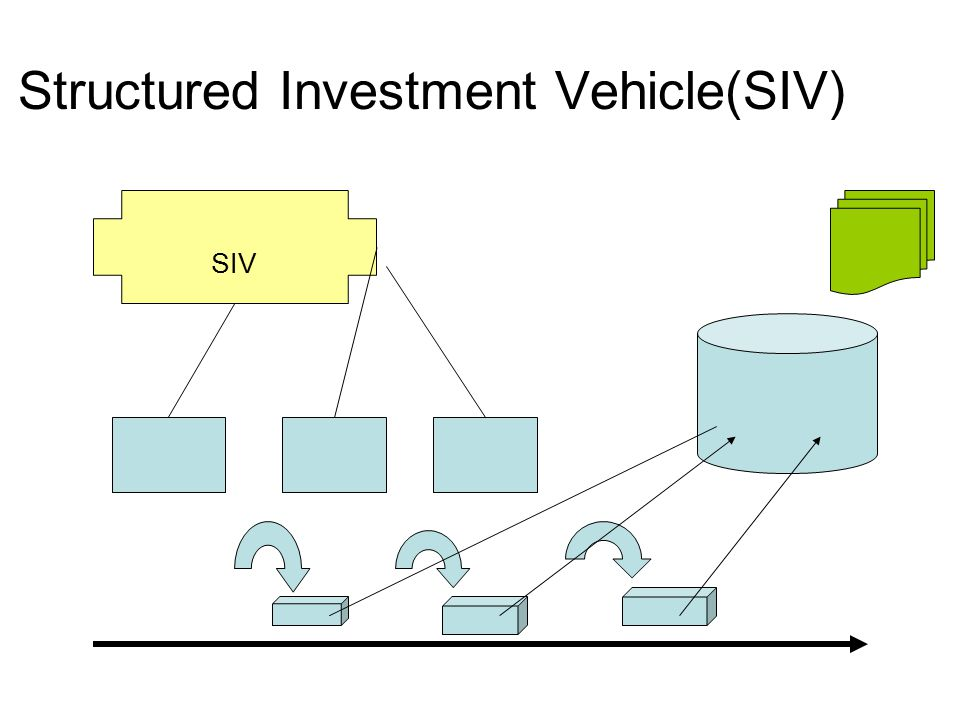 Structured Investment Vehicle(SIV)