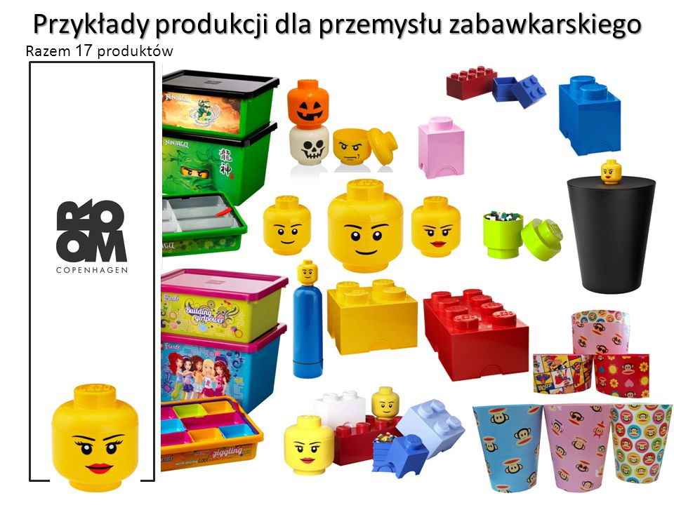 Przykłady produkcji dla przemysłu zabawkarskiego
