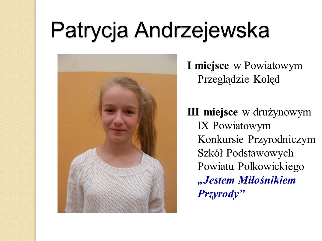 Patrycja Andrzejewska