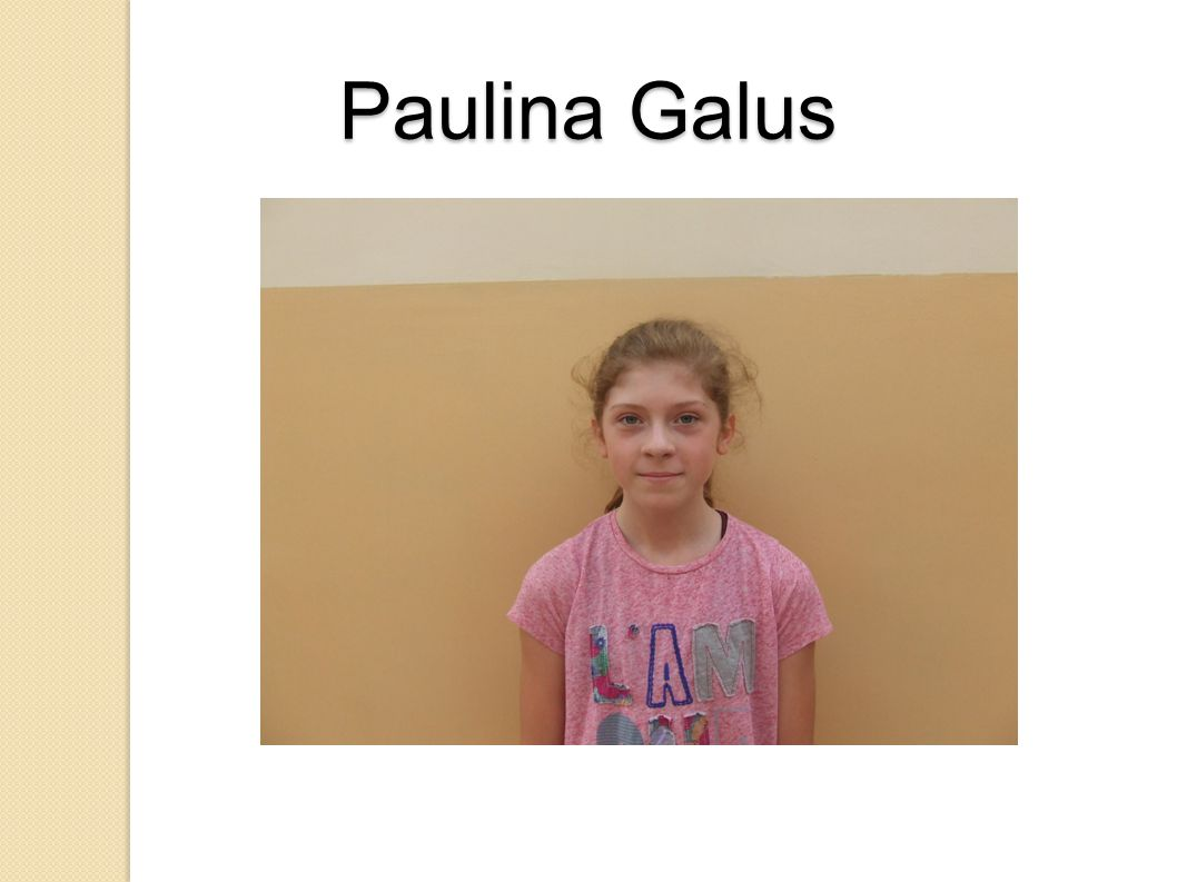 Paulina Galus