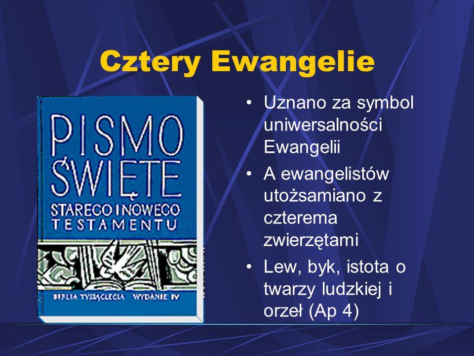 Cztery Ewangelie Uznano za symbol uniwersalności Ewangelii