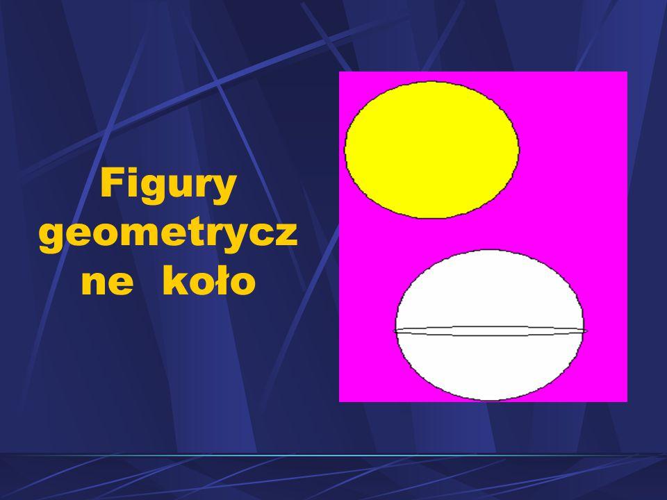 Figury geometryczne koło