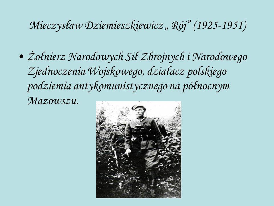 """Mieczysław Dziemieszkiewicz """" Rój (1925-1951)"""