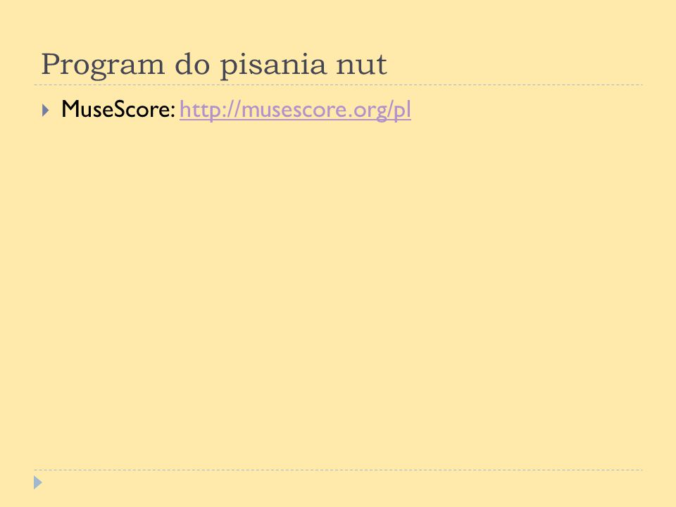 Program do pisania nut MuseScore: http://musescore.org/pl
