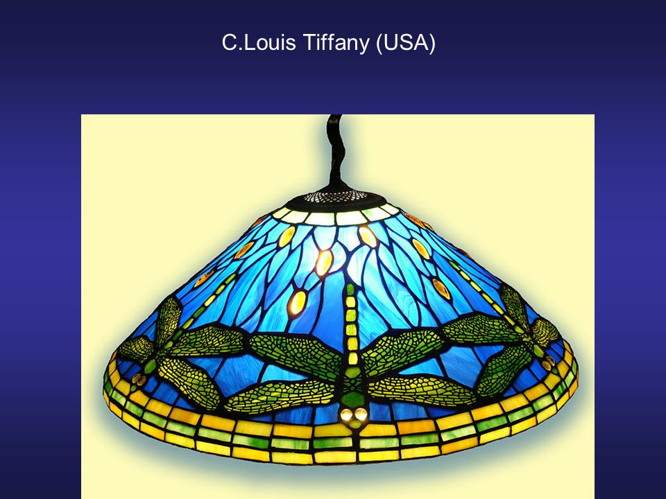 C.Louis Tiffany (USA)