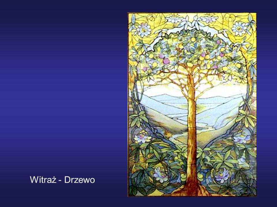 Witraż - Drzewo