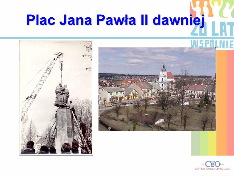 Plac Jana Pawła II dawniej