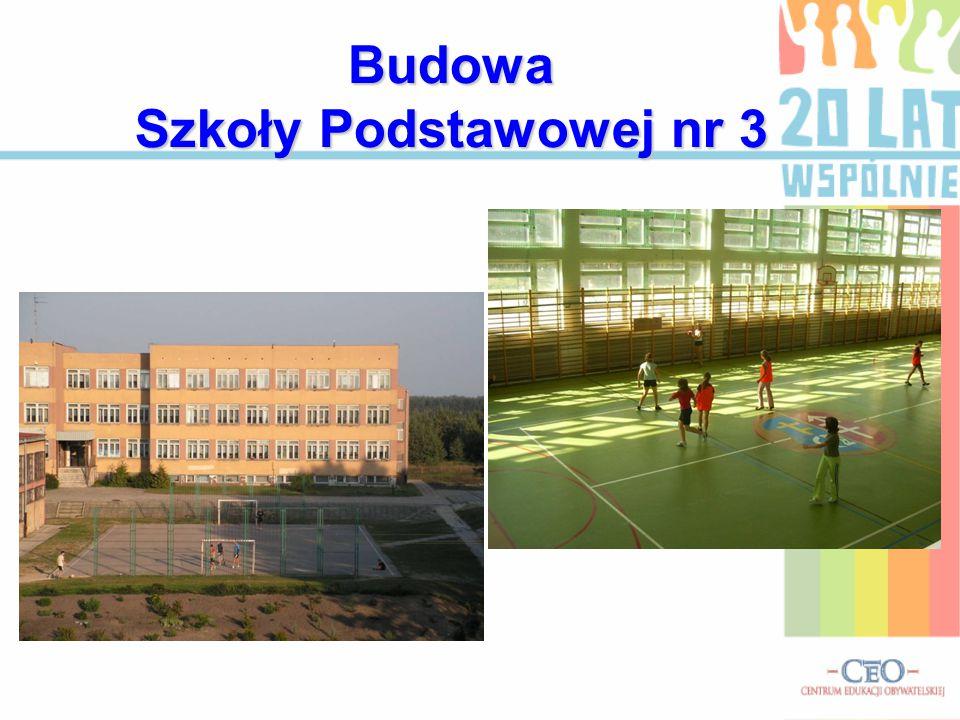 Budowa Szkoły Podstawowej nr 3