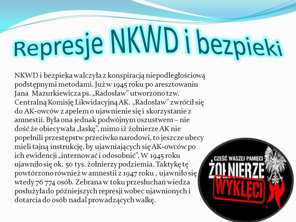 Represje NKWD i bezpieki