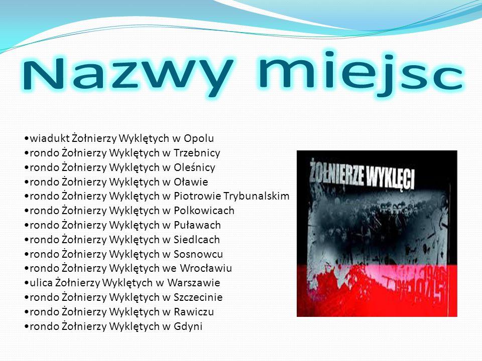 Nazwy miejsc wiadukt Żołnierzy Wyklętych w Opolu