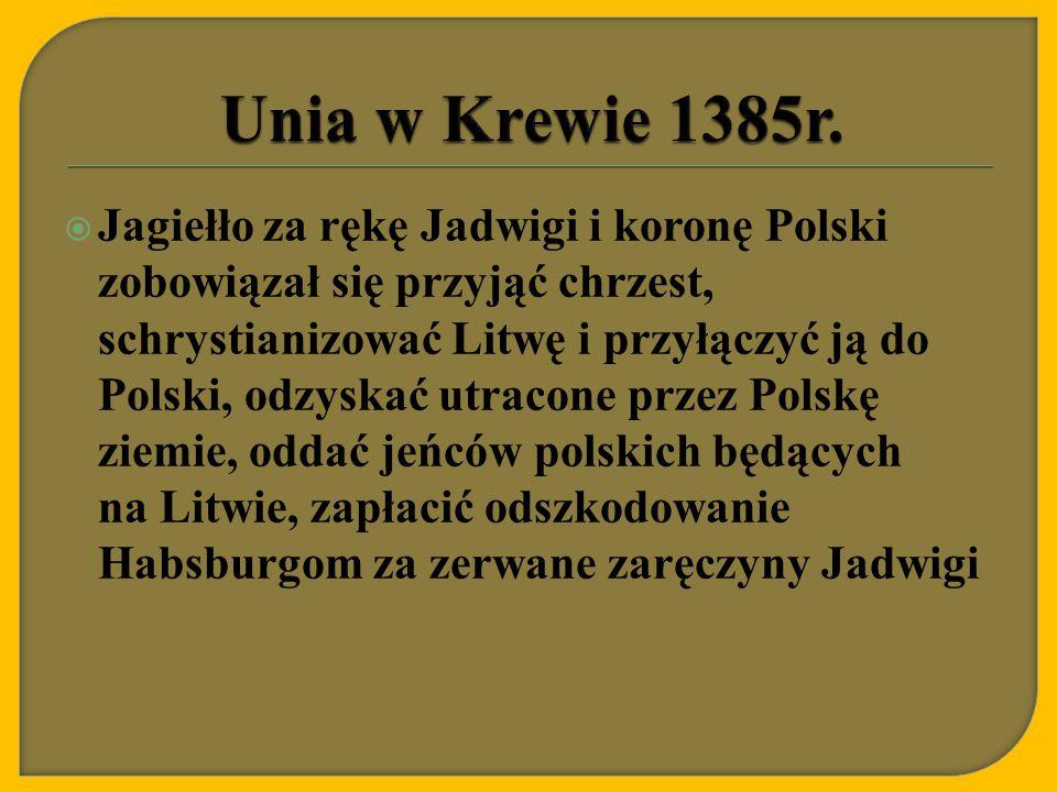 Unia w Krewie 1385r.