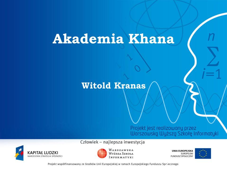 Akademia Khana Witold Kranas