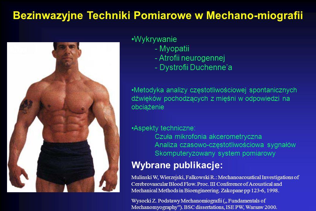 Bezinwazyjne Techniki Pomiarowe w Mechano-miografii