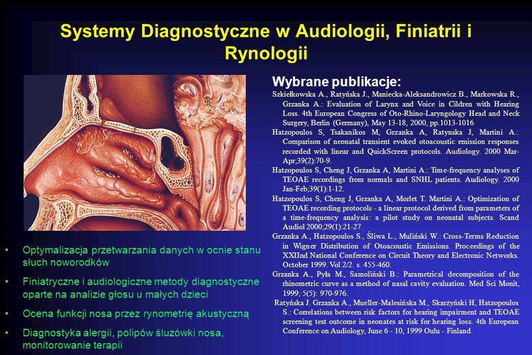 Systemy Diagnostyczne w Audiologii, Finiatrii i Rynologii