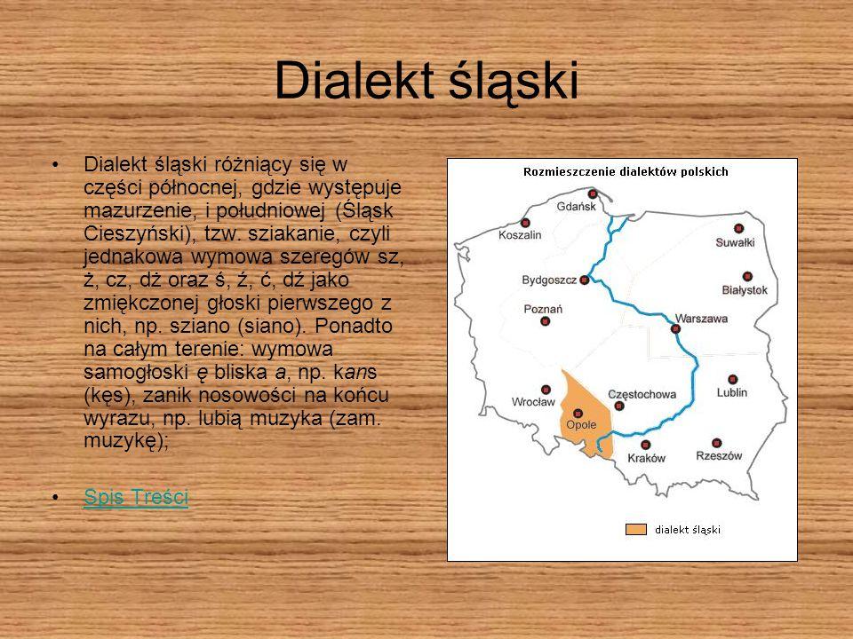 Dialekt śląski