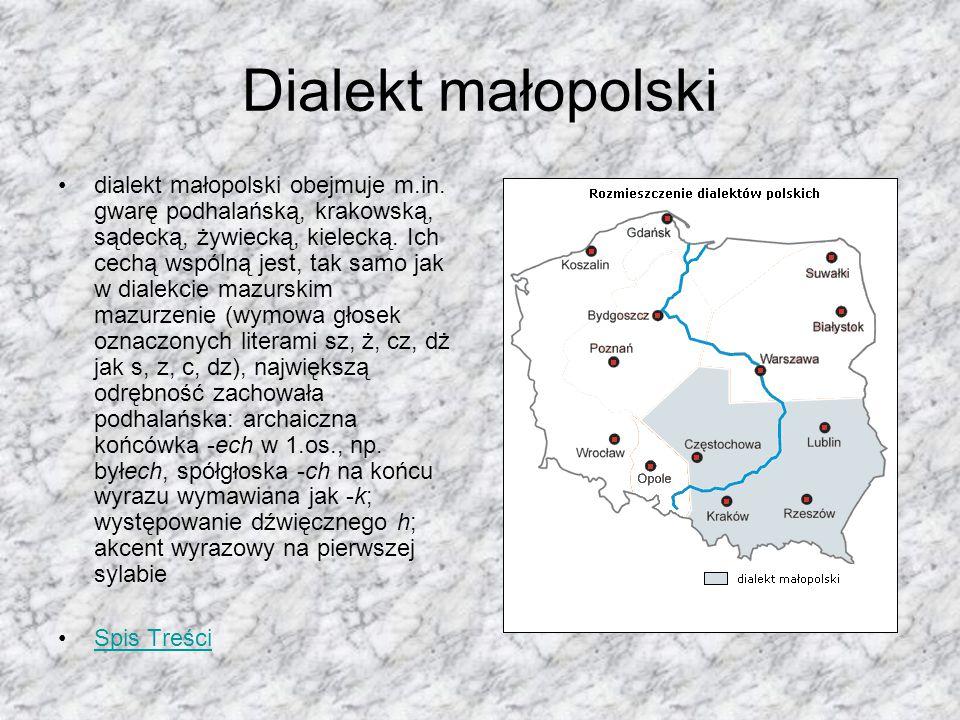 Dialekt małopolski