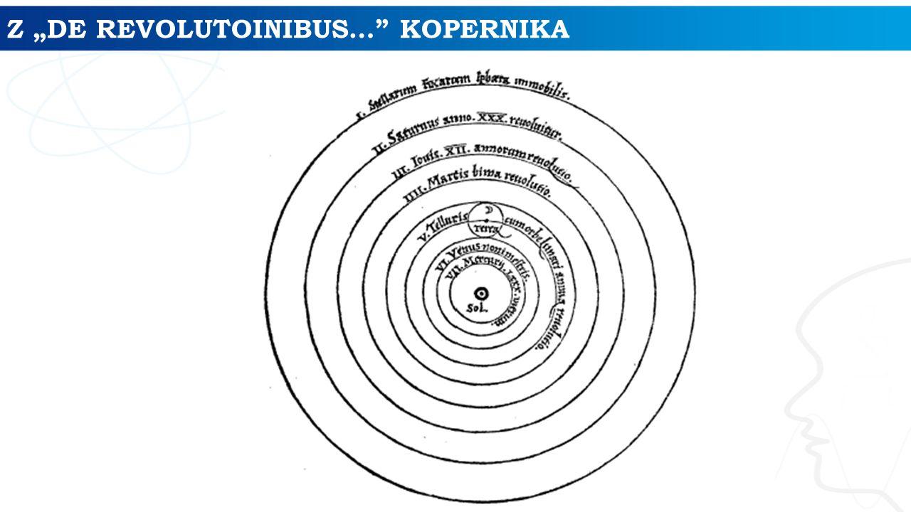 "Z ""DE REVOLUTOINIBUS… KOPERNIKA"