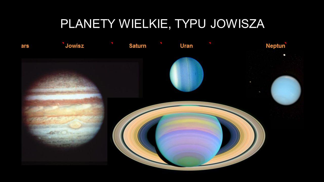 Planety wielkie, typu Jowisza