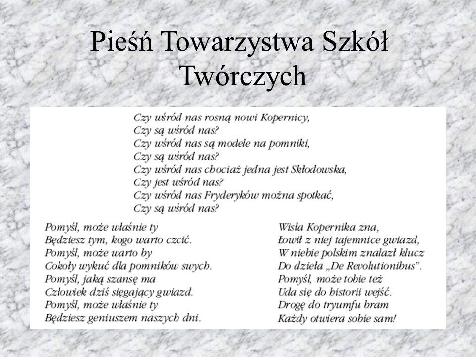 Pieśń Towarzystwa Szkół