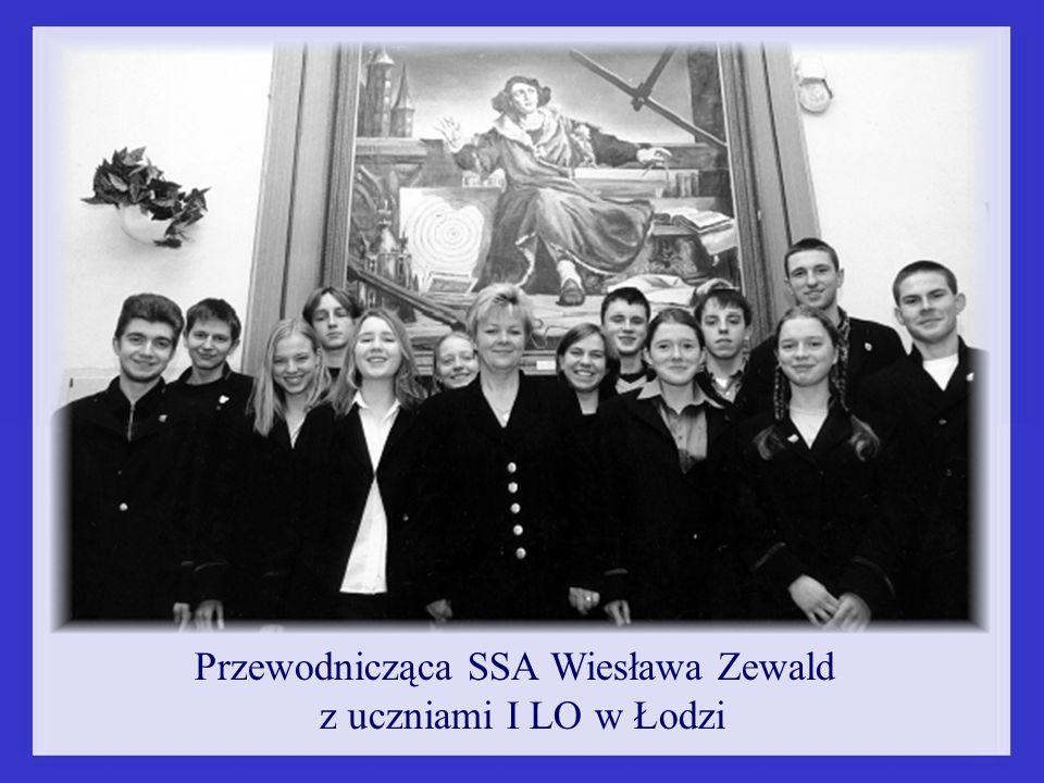 Przewodnicząca SSA Wiesława Zewald