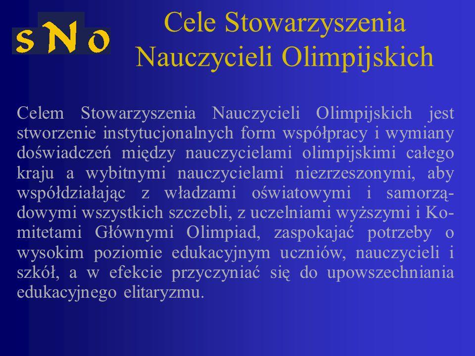 Cele Stowarzyszenia Nauczycieli Olimpijskich