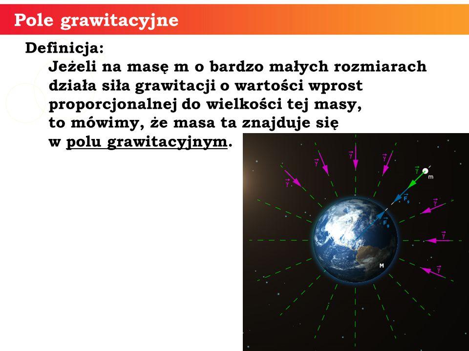 Pole grawitacyjne