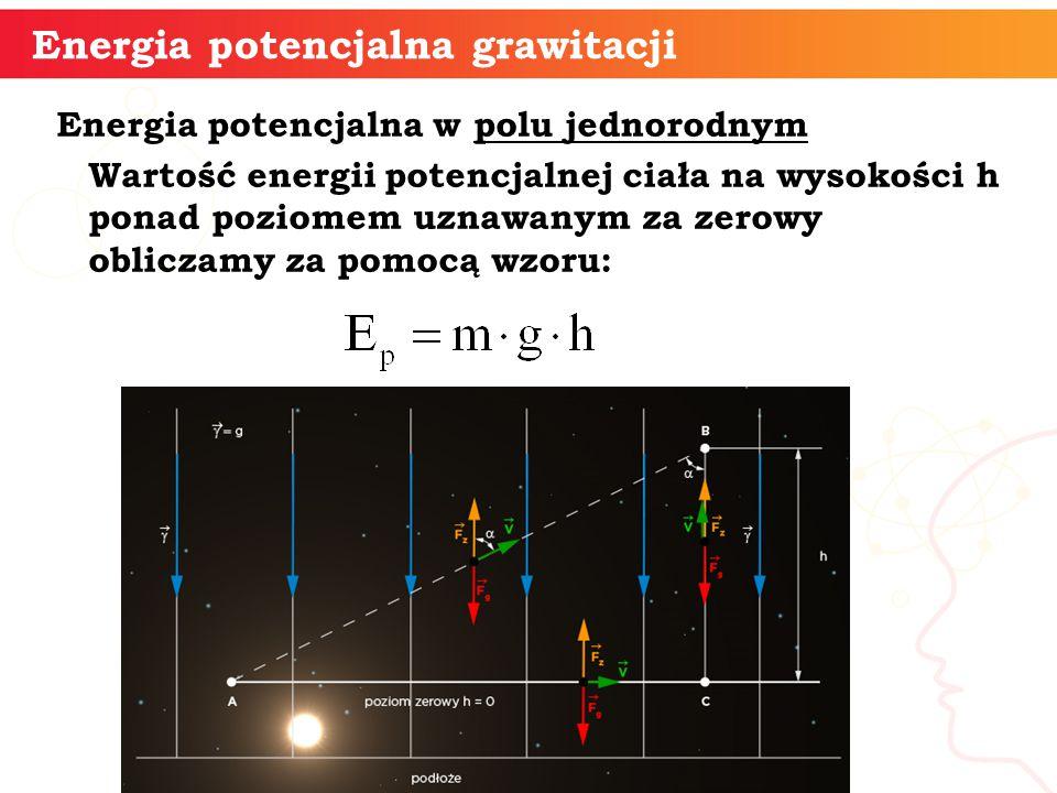 Energia potencjalna grawitacji