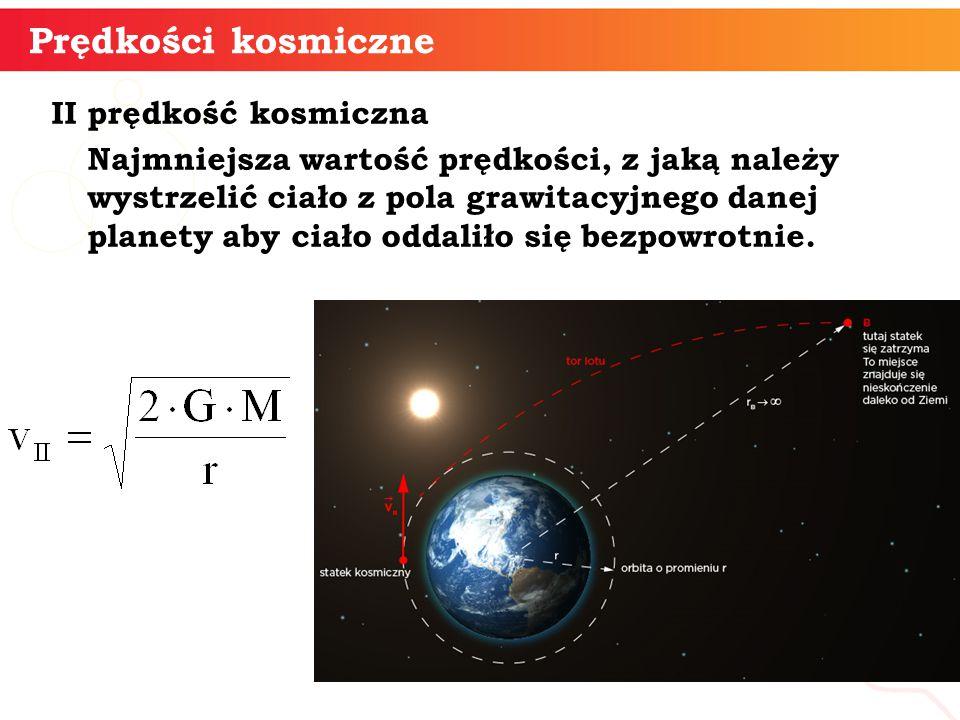 Prędkości kosmiczne